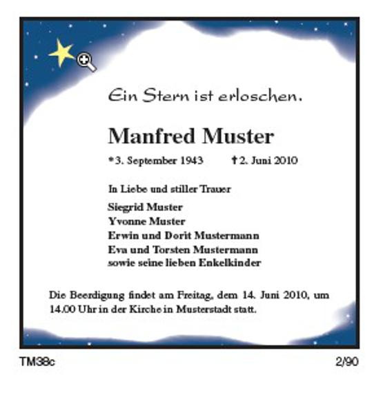 Ostseezeitung Traueranzeigen